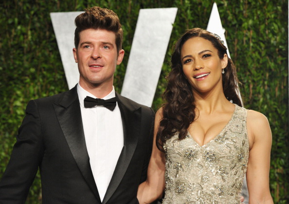 Robin Thicke Almost Cries Over Paula Patton On Stage K97 5