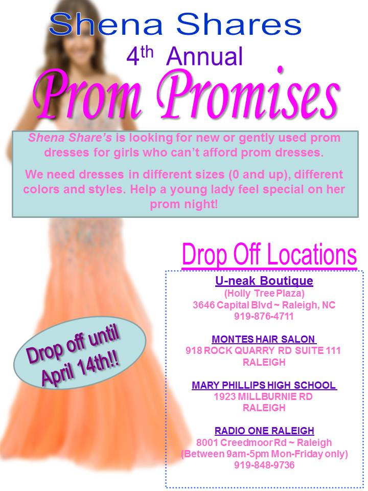 2014 Prom Promise Drop Off