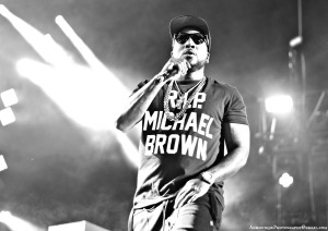 Jeezy with Mike Brown Photo