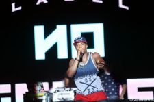 B.o.B Performs At FunkFest