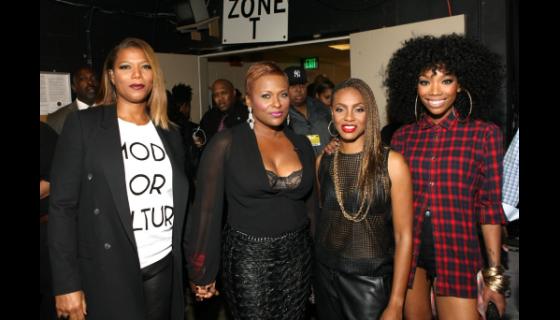 Brandy Yo Yo Mc Lyte Amp Queen Latifah Perform At Bet Hip