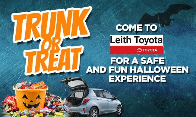 Leith Toyota, Foxy107/104, And K97.5 Is Giving Your Kids A Safe Environment  To Trick Or Treat At Leith Toyota, 8005 Capital Blvd, Raleigh 27616, ...