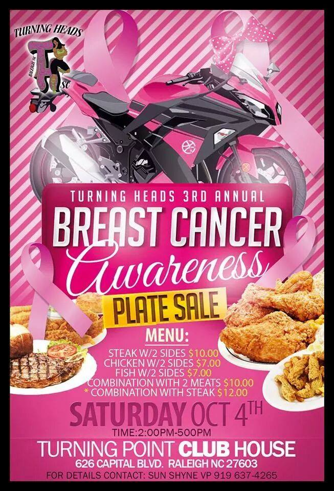 breast cancer plate sale