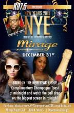 Spend New Year's Eve With Us At Mirage!