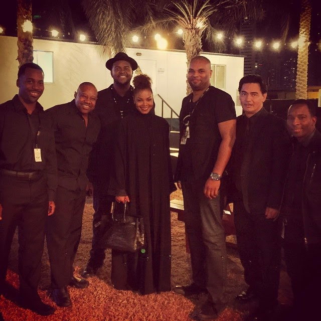 Omg Janet Jackson Surfaces In Dubai To Support Her