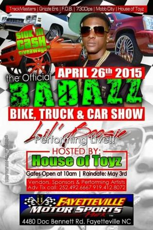 House of Toyz Lil Boosie Event Post Graphics
