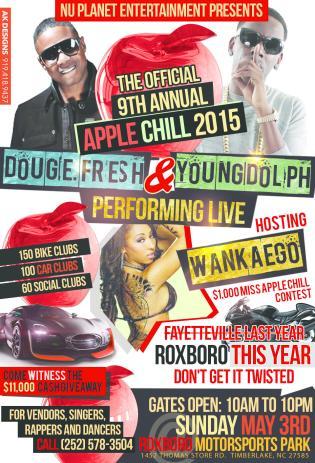 Nu Planet Ent Apple Chill Event Post Flyer WQOK