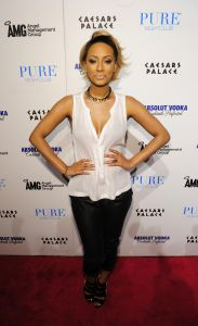 Keri Hilson Performs At Pure Nightclub Las Vegas