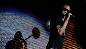 Jay-Z, Young Jeezy and Trey Songz Perform at the Staples Center
