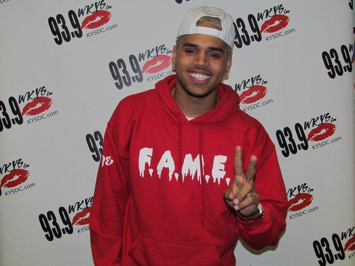 Chris Brown WKYS Meet & Greet