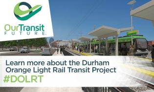 Durham Light Rail Transit Event Post Graphics