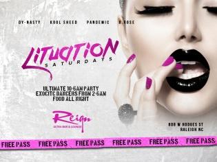 Reign Nightclub Event Post Graphic