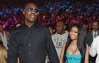 Is That An Engagement Ring? Nicki Minaj & Meek Showing A Lot Of P.D.A. [PICS]