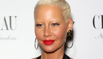 Amber Rose Hosts Memorial Day Party