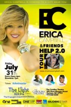 Erica Campbell and Friends HELP 2.0 Tour: A One VIP Concert