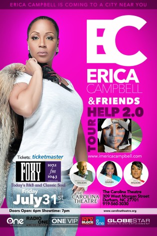 Erica Campbell One VIP Concert