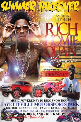 Summer Takeover Rich Homie Quan