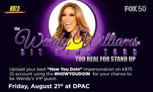 Wendy Williams #HOWYOUDOING Sweepstakes 2015