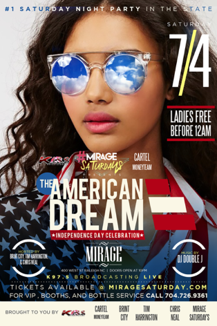 The American Dream - July 4th at Mirage