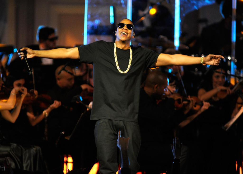 Jay-Z Performs at Carnegie Hall to Benefit the United Way of New York City and the Shawn Carter Foundation - Show - February 6, 2012