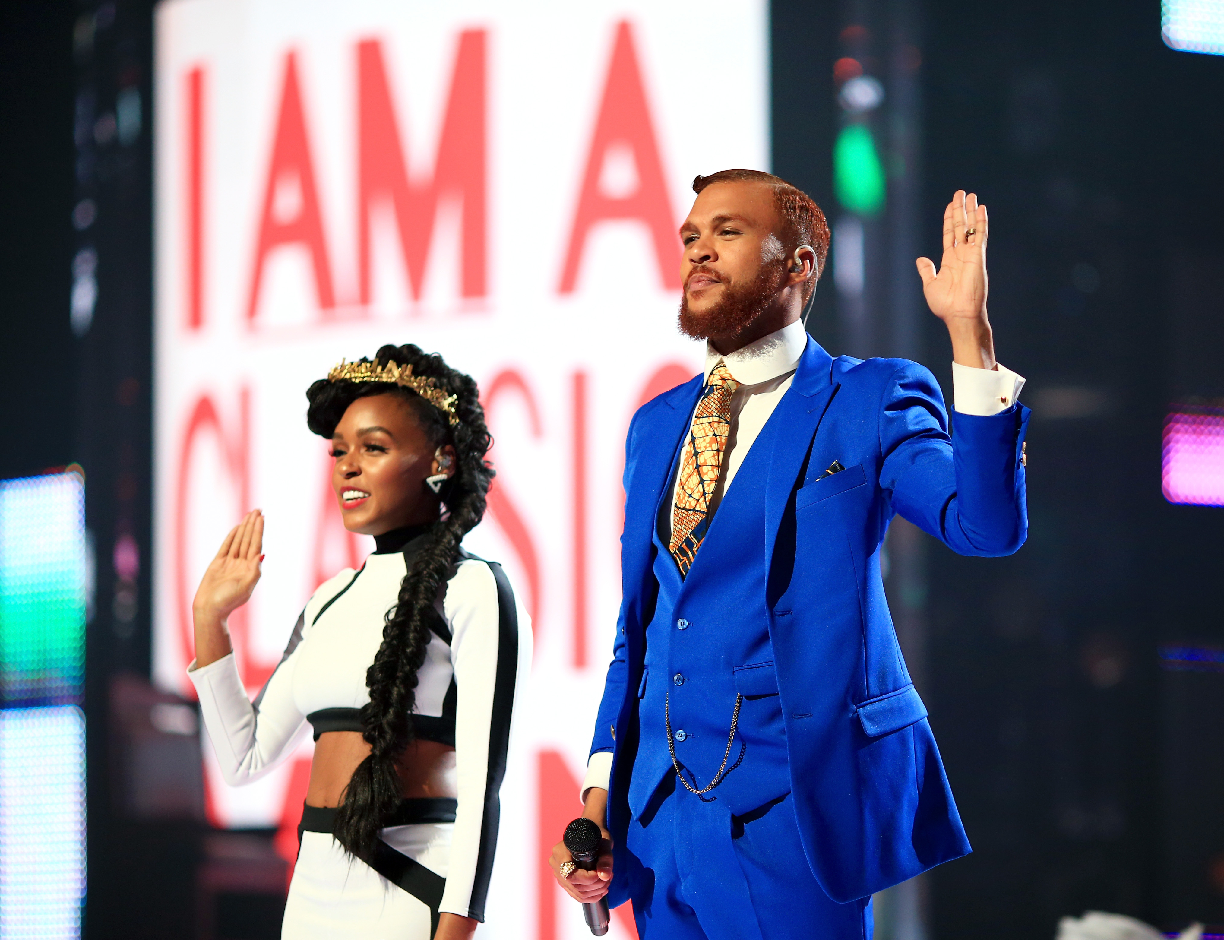janelle monae and jidenna dating Janelle monáe, soundtrack: dance apocalyptic - as janelle monae robinson) late show with david letterman (tv series) (performer - 2 episodes.