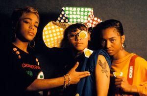 "TLC - T-Boz, Chilli, and Lisa ""Left Eye"" Lopez"