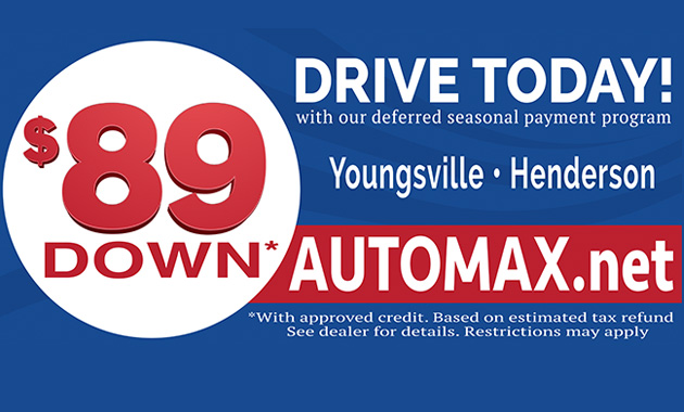 Automax Henderson Nc >> Automax Home Of The Free K97 5