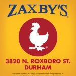 Zaxbys Durham
