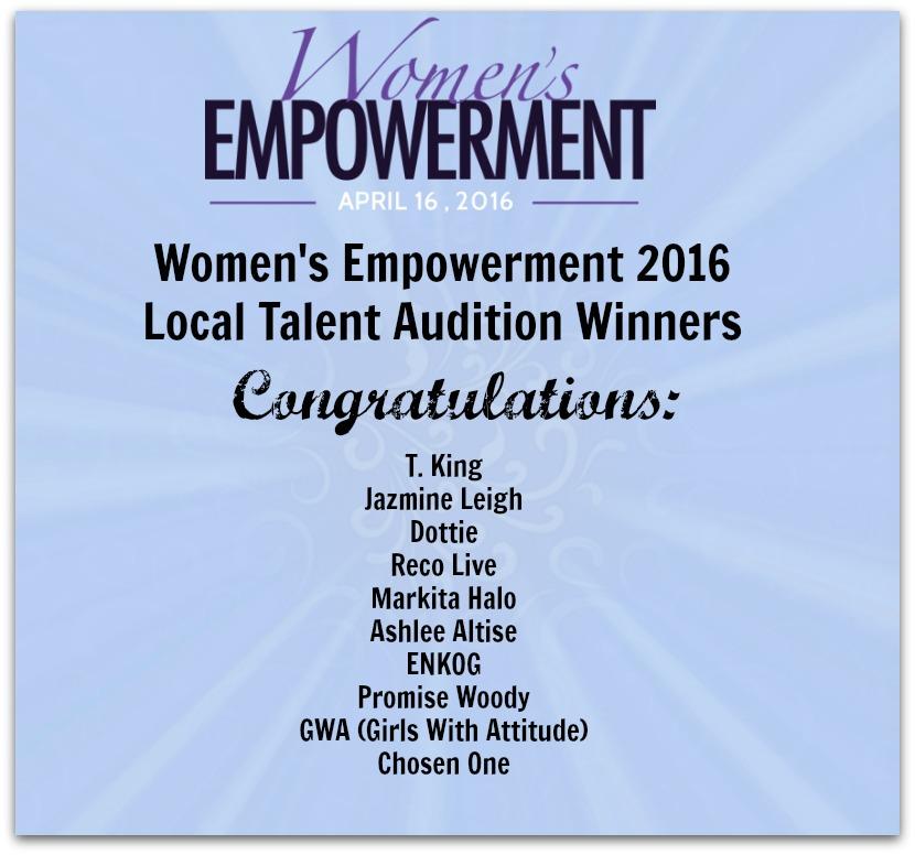 Women's Empowerment Winners