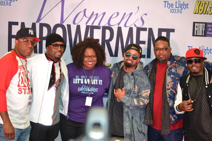 Mir.I.am with Teddy Riley, BS2, and Dave Hollister