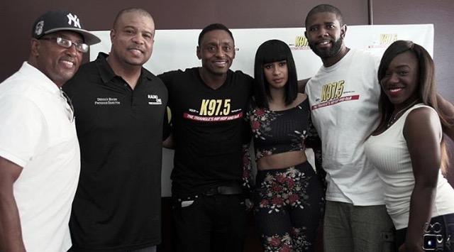 Cardi B, At NCCU with Brian Dawson, Showtime and Derrick Baker