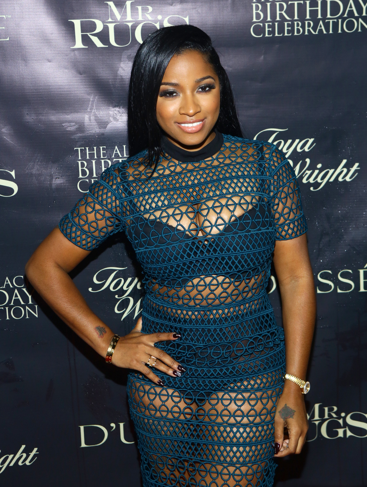 All Black Affair For Mr Rugs U0026 Toya Wright Birthday Celebration