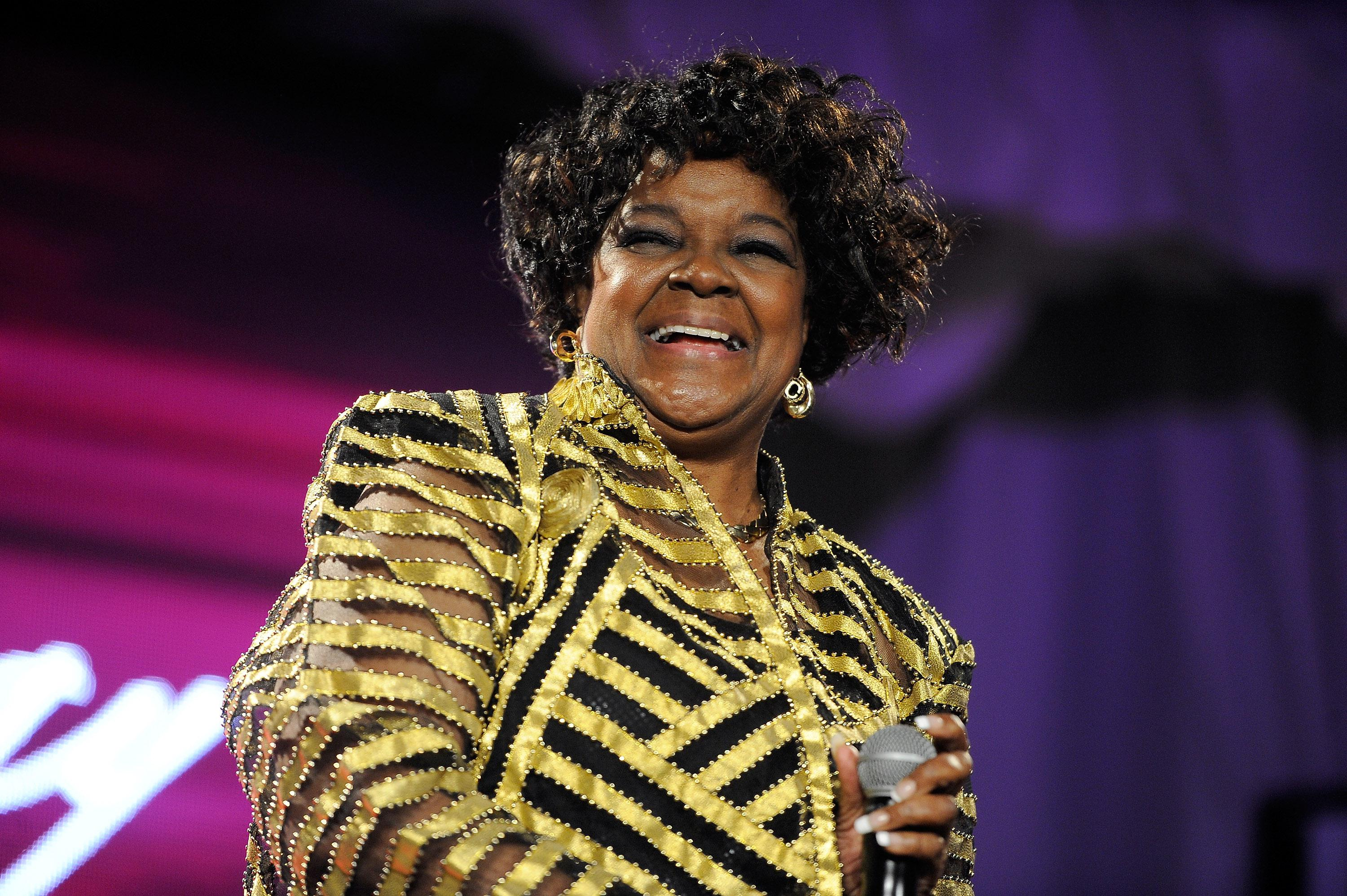 Shirley Caesar Does The You Name It Challenge With The