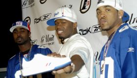 50 Cent and Reebok Host Launch Party to Debut Answer 7 and G6 Footwear
