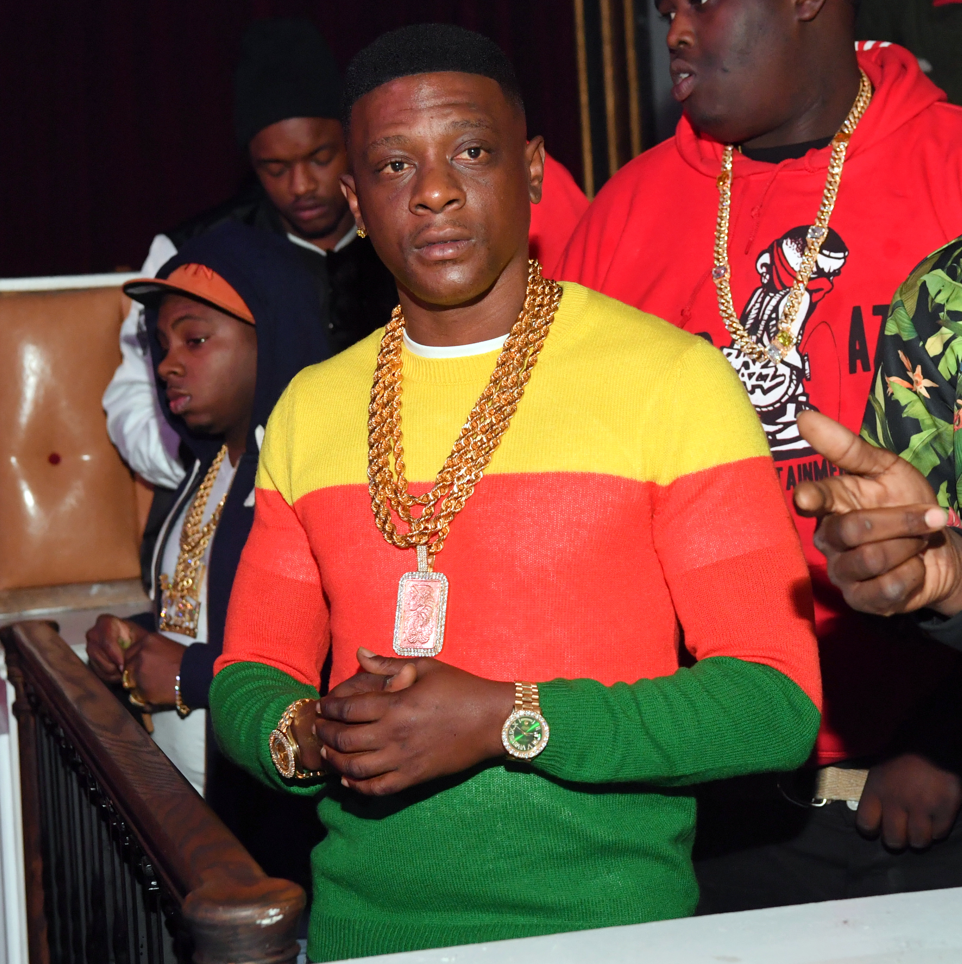 Boosie Host Saints vs Falcons Game After Party