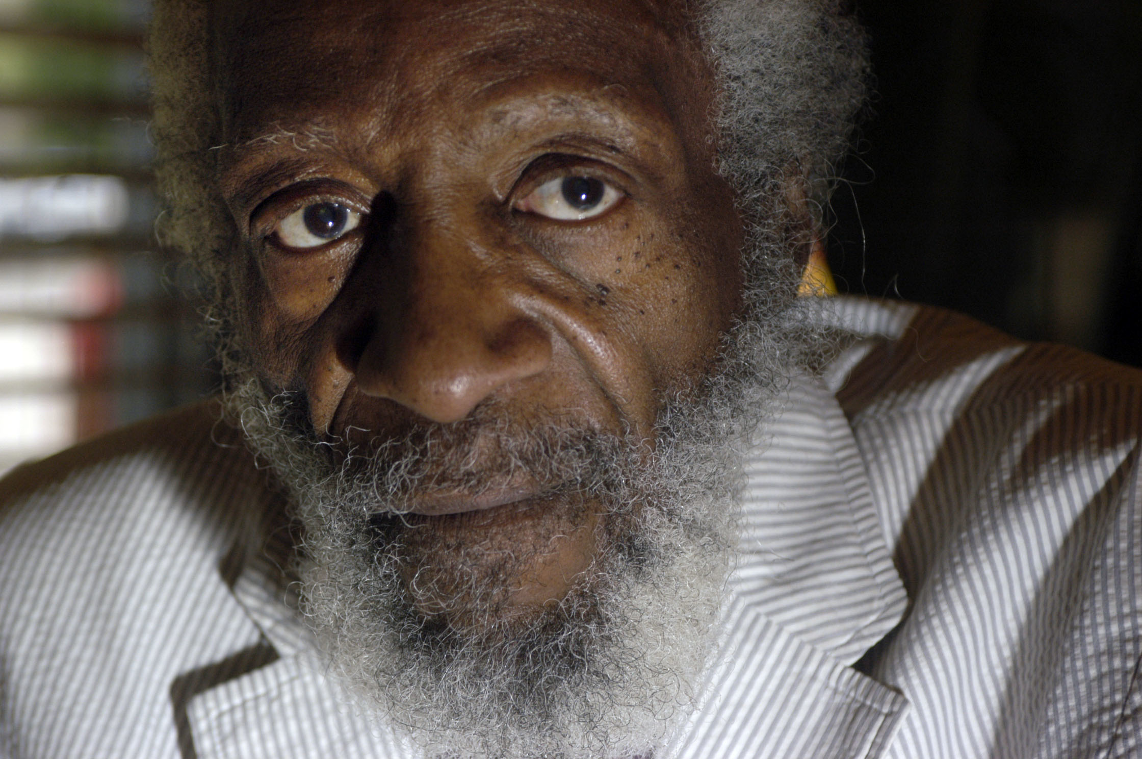 Civil rights activist Dick Gregory