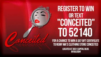 conceited enter to win