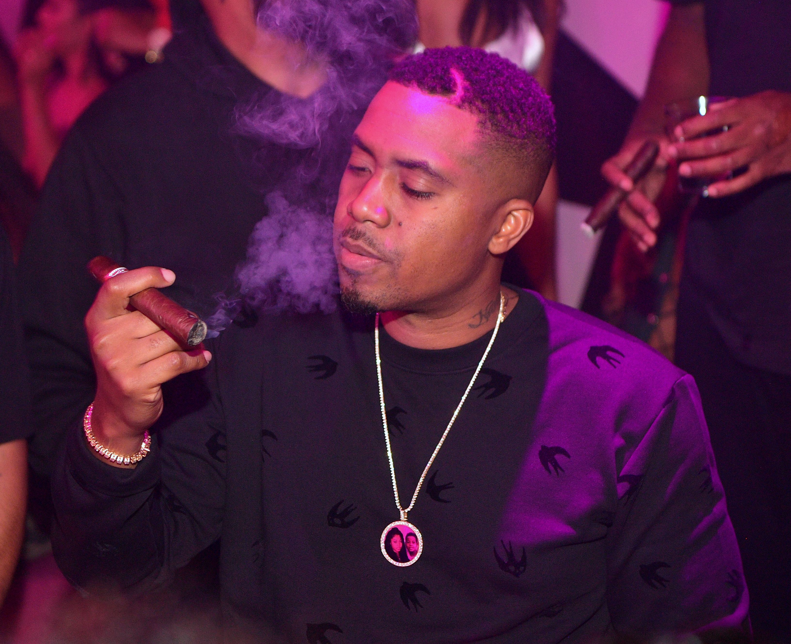 Nas Hosts Gold Room