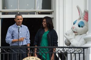 US-POLITICS-EASTER-WHITEHOUSE