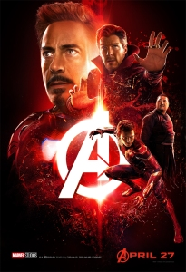 AVENGERS: INFINITY WAR Character Group Posters Iron Man