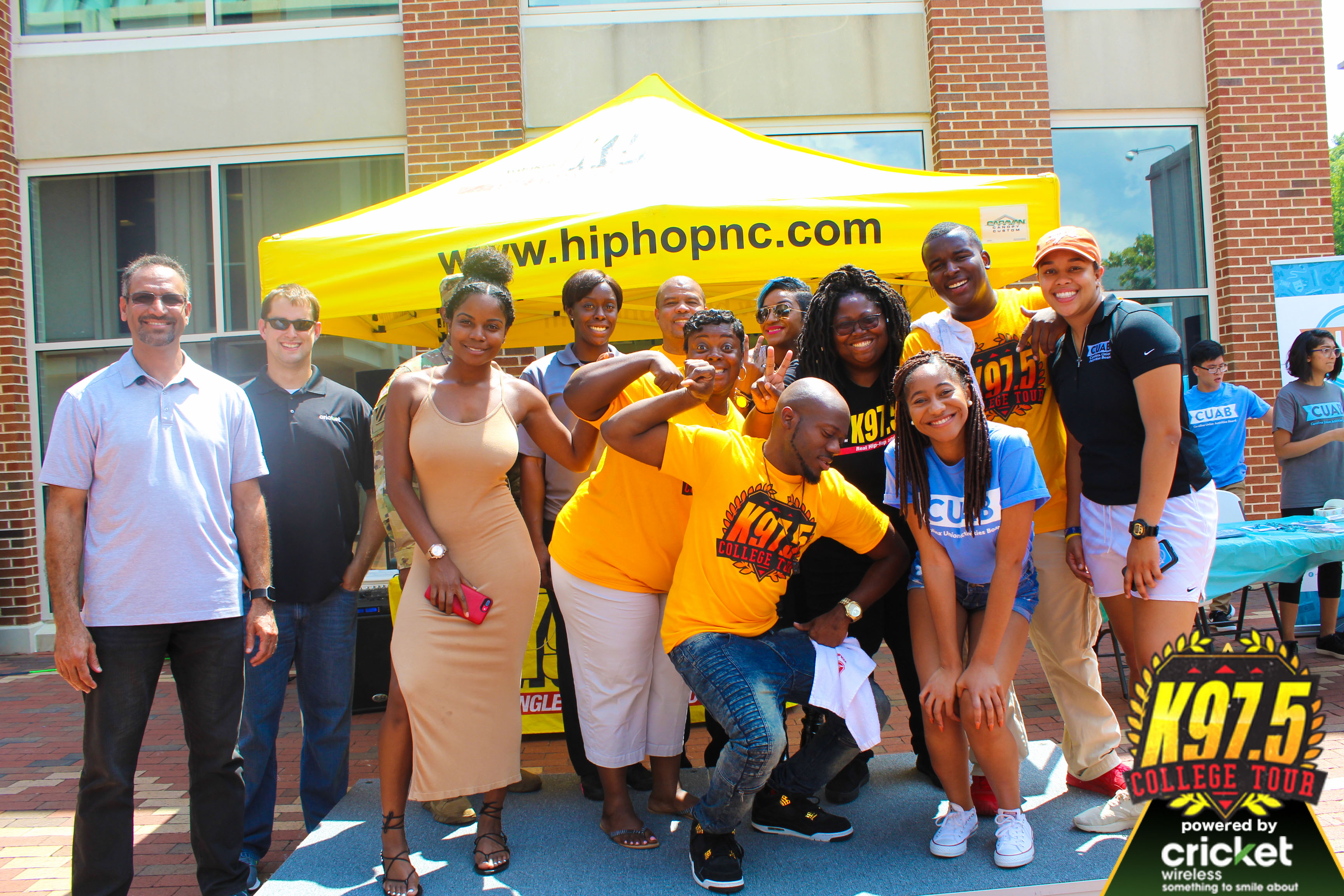 K97.5 College Tour: UNC Chapel Hill
