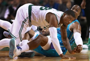 NBA Preseason: Charlotte Hornets Vs Boston Celtics At TD Garden