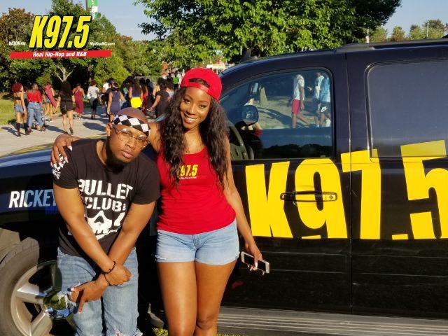 Chris Brown Concert -- Radio One Raleigh