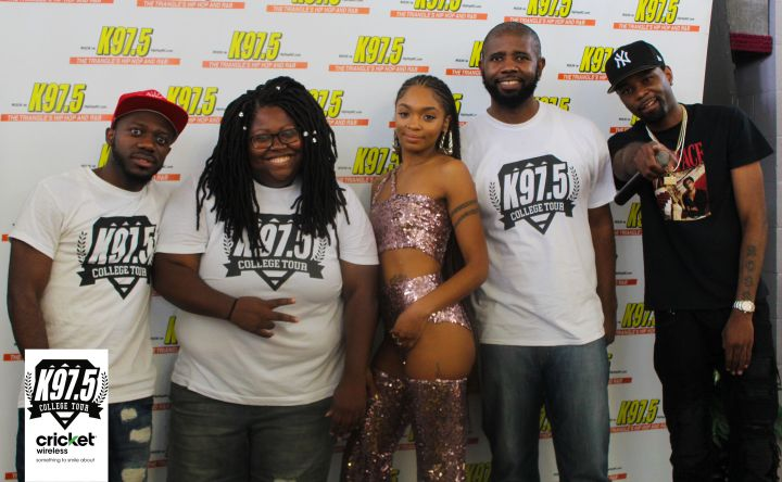 K975 College Tour NC Central University 8.21.2018
