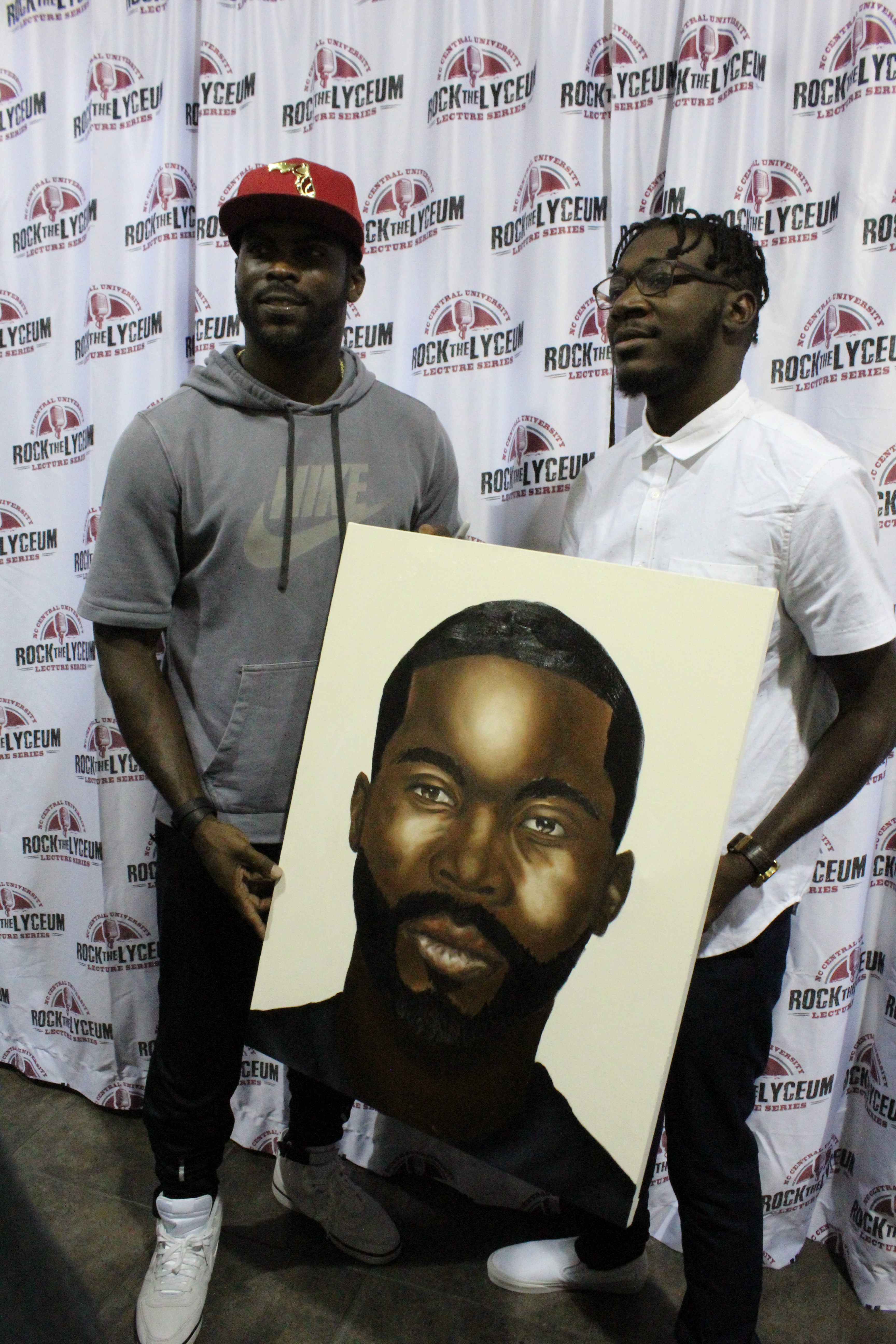 Mike Vick at NCCU