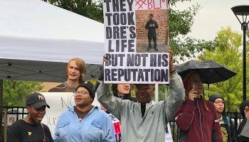 DeAndre Ballard Protest