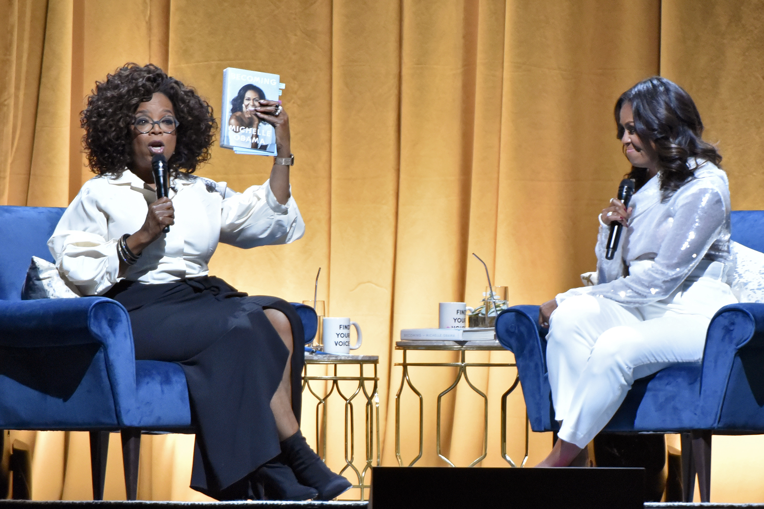 Michelle Obama's 'Becoming' book tour