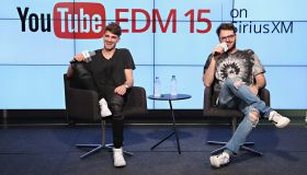 The Chainsmokers Host Their SiriusXM Show, 'The YouTube EDM 15' From The YouTube Space In New York City