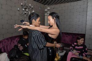 Draya birthday party at Beauty & Essex