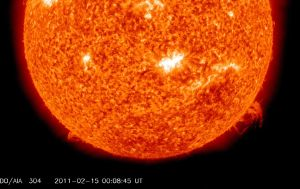 The Sun Emits First X-Class Flare For Four Years